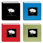 Pioneer fabric covered 4x6 photo album in colors style DA-200CBF at Frame It Waban Gallery