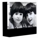Canetti 5x7 Black Back And Base Acrylic Magnet Ready Made Frame - Style LC115B | Frame It Waban Gallery