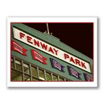 Photo Greeting Card Of Fenway Park in Massachusetts by Kurt Neumann