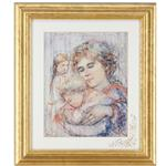 """Mother's Handful"" by Edna Hibel"