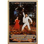 """Saturday Night Fever"" Movie Poster"