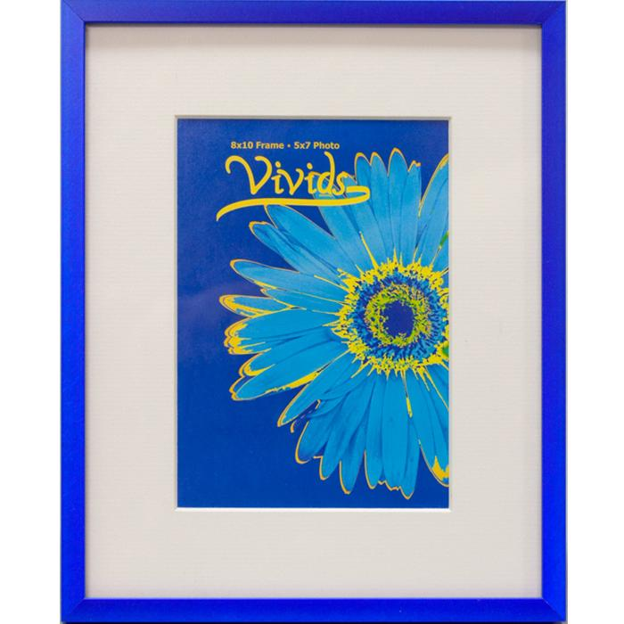 Nielsen 16x20 Blue Metal Ready Made Frame With 11x14 Mat | Frame It ...