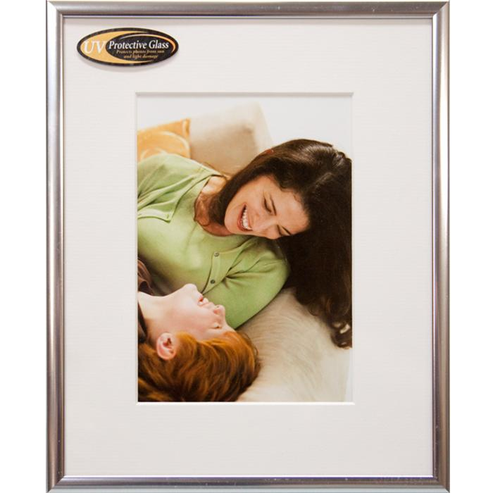 Nielsen Studio Collection 11x14 Size Silver Metal Ready Made Frame ...