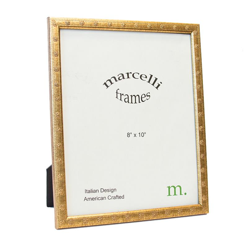Marcelli Gold 8x10 Ready Made Wood Frame - style 100780 | Frame It ...