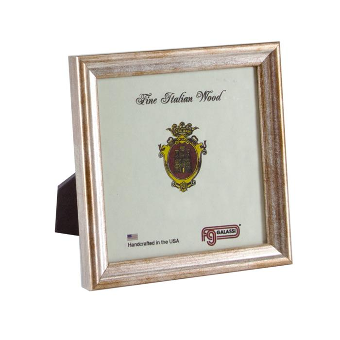 F.G. Galassi Silver 5x5 Ready Made Wood Frame - style 13855 | Frame ...