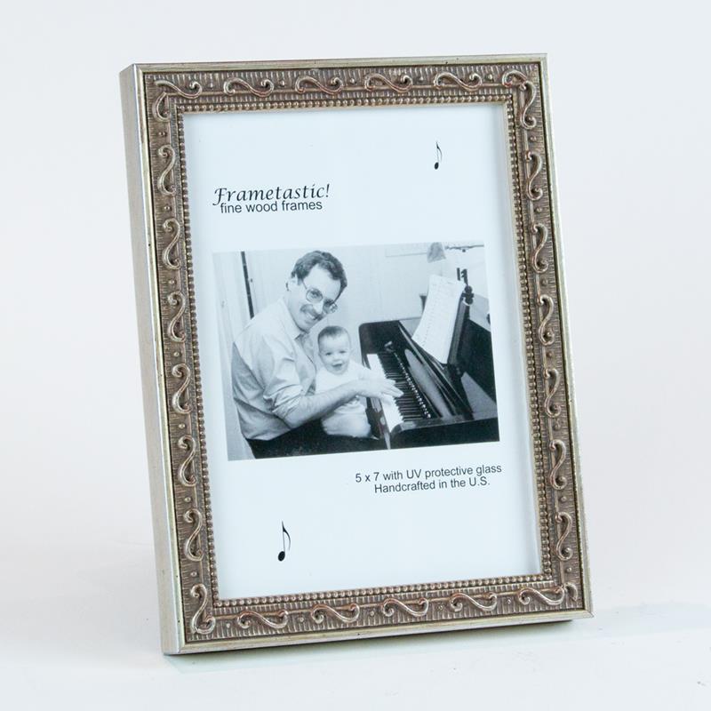 Frame It / Waban Gallery - Frametastic 4x6 Music wood photo frame ...