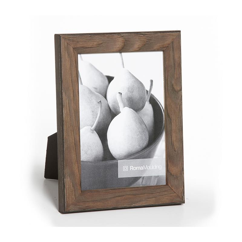 Roma Moulding Arbor Gray Aged 8x10 Ready Made Frame Style