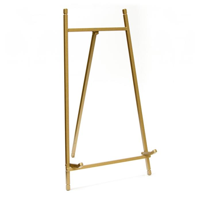 Bards 12 inch tall gold easel frame holder - style 937g| Frame It ...