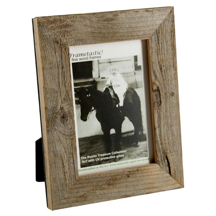 Frametastic 4x6 Authentic Distressed Barn Board Ready Made Frame