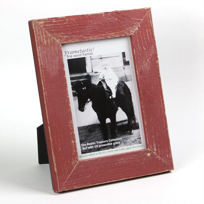Frame It Waban Gallery Frametastic 5x7 Rustic Treasures Red