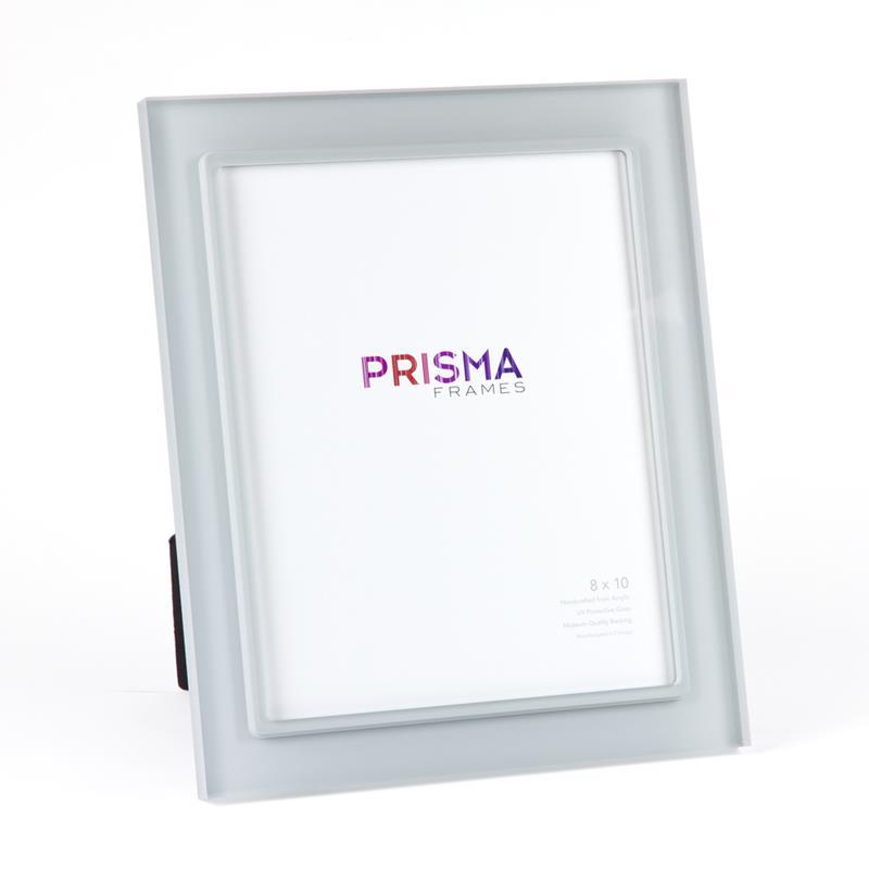 Prisma Premio 8x10 Smoke Color Acrylic Ready Made Frame Style