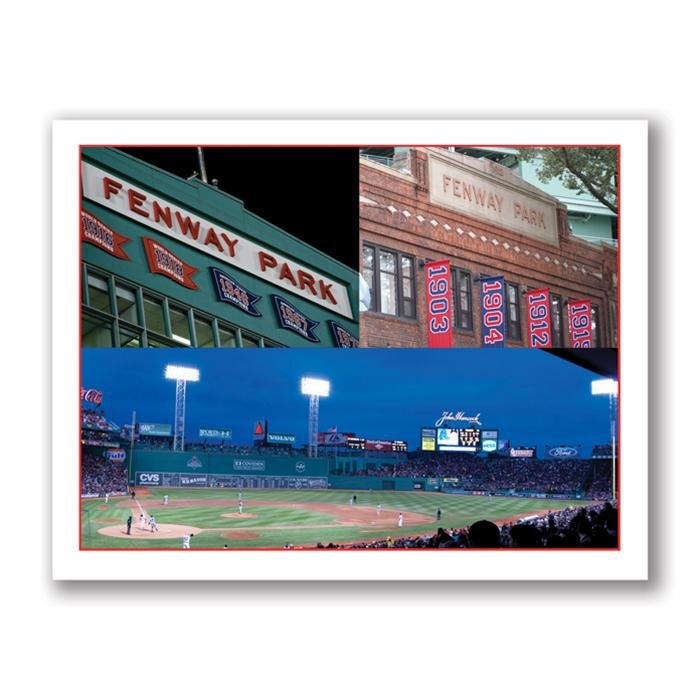 Photo Greeting Card Of Fenway Park in Boston by Kurt Neumann