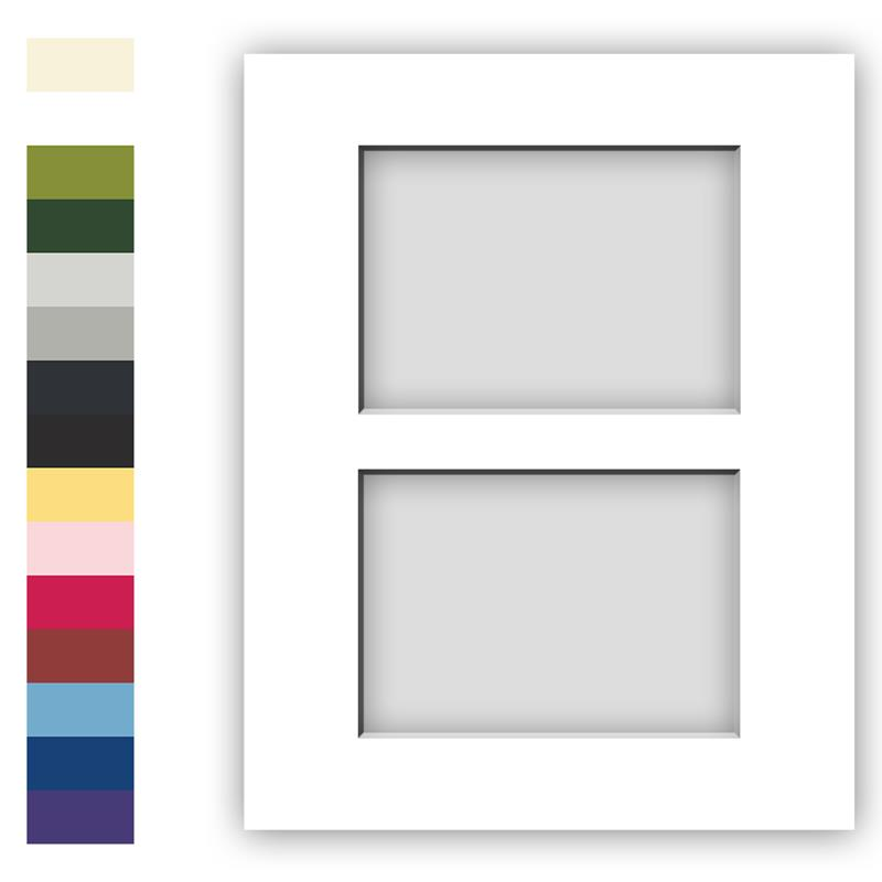 Acid Free Archival Matting For 11x14 Picture Frames With 2
