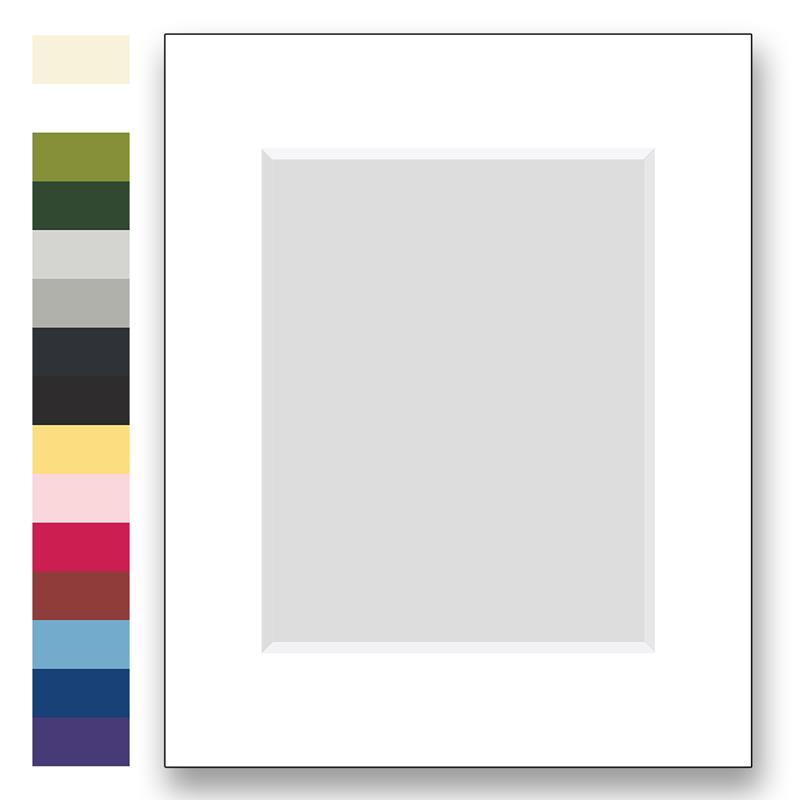 Archival matting to fit 16x20 picture frames with one window   Frame ...