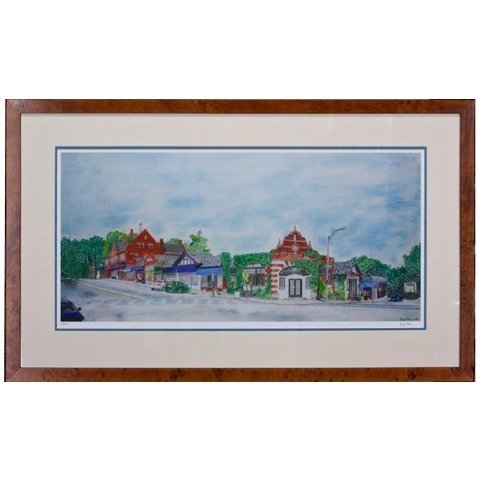 Framed Artwork waban square by jerry cohen