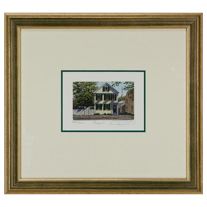 "framed artwork""August"" by Caroll Collette"