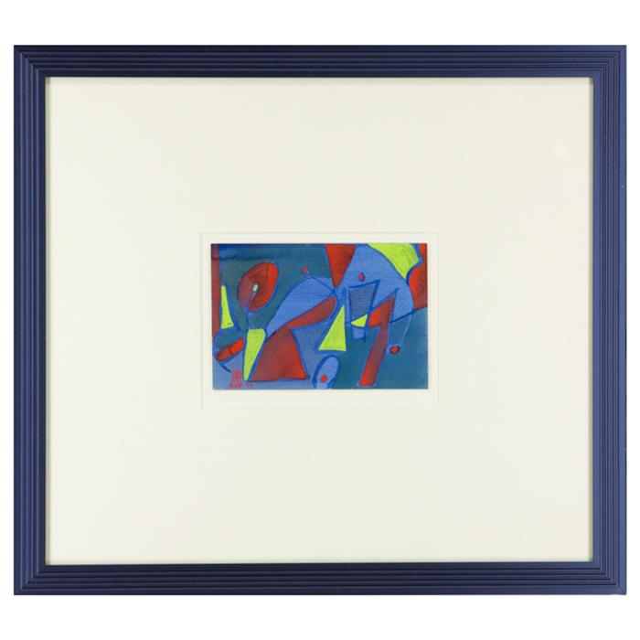 framed artwork Abstract art by EHF