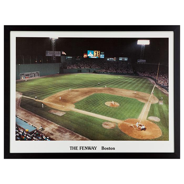 framed print of The Fenway in Boston