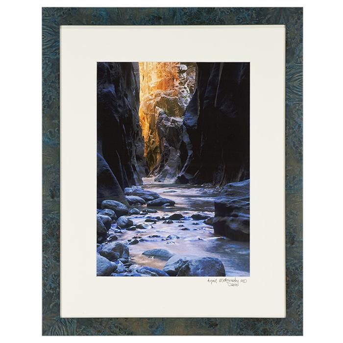 framed Photo of Rocky River by Cyril Mazansky