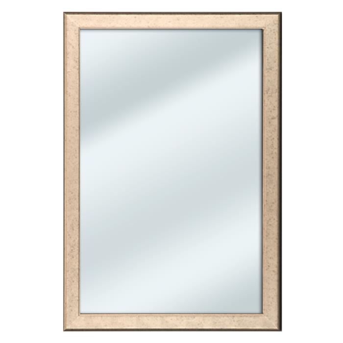 Contemporary Copper Mirror with Rounded Edge - 11&frac38x16&frac58"