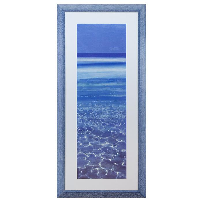 framed artwork of an Ocean View