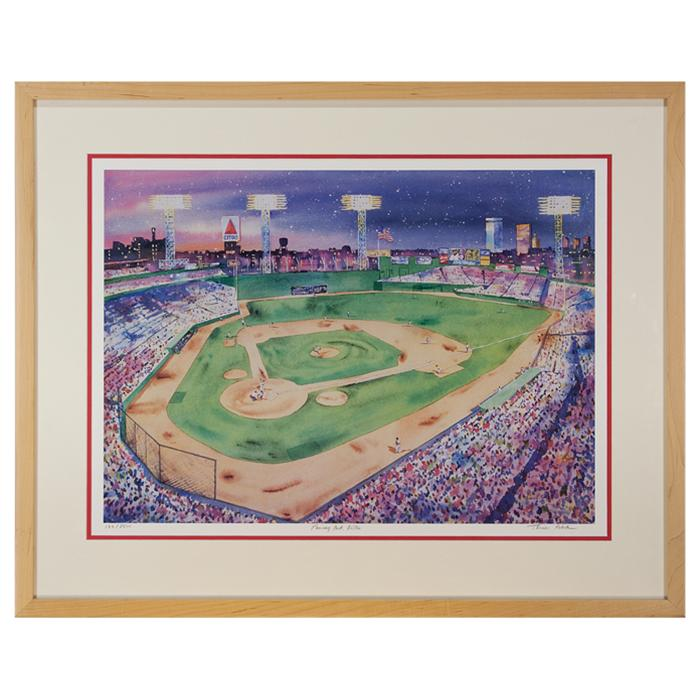 framed artwork Fenway Park by Thomas Rebek