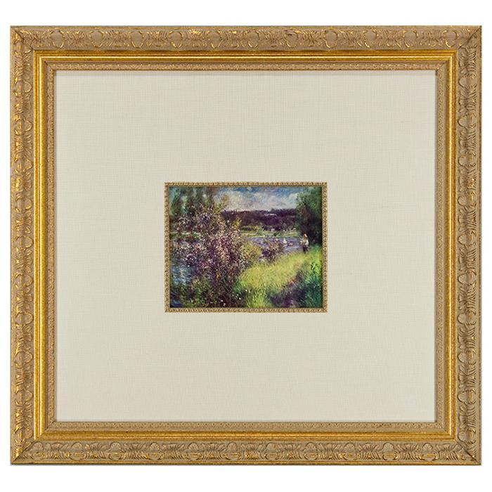 framed Reproduction Print by Pierre Auguste Renoir